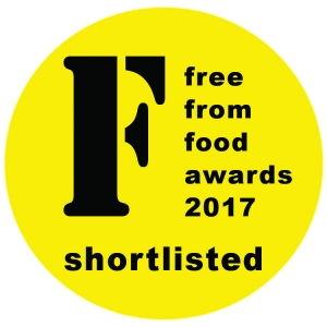 Simple Bakes Smoky BBQ nominated for Free From Food Awards 2017!